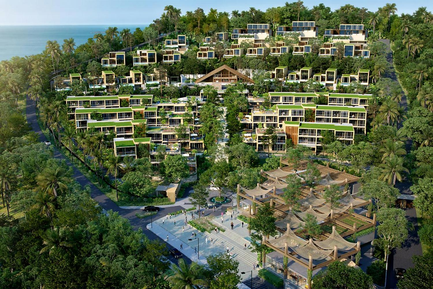 Aquarius Residences and Resort Koh Chang, AQIs flagship project, is scheduled to open in three phases starting in 2022.